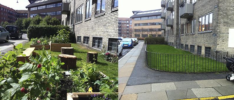Åbne haver     Klimakvarter Østerbro
