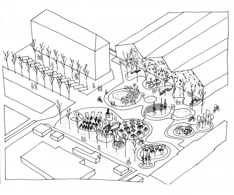 Illustration scenarie 2: PARK Architects
